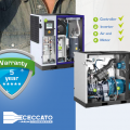 5 years warranty Ceccato 40-125 hp with frequency converter compressors