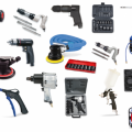 Rodcraft pneumatic tools and workshop equipment.