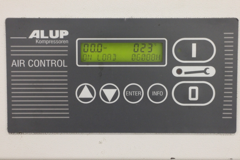 Air Compressor Filter Dryer >> Screw compressor Alup SCK 15-8 - www.peltoc.com